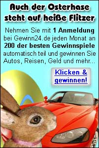 Mit Gewinn24.de zum Ostergewinn!